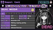 Ibuki Mioda's Report Card (Deceased)
