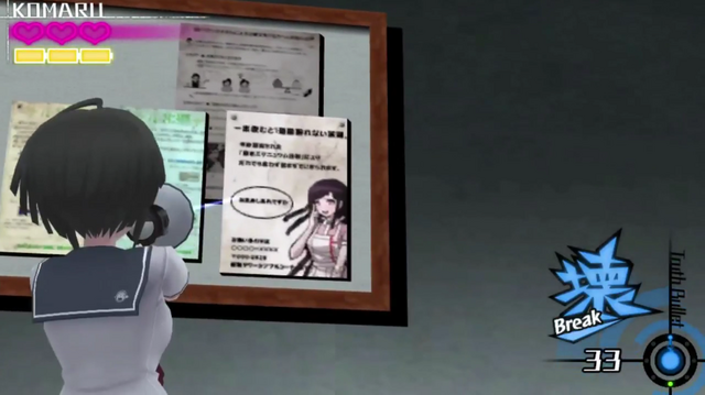 File:Mikan Tsumiki Cameo in Danganronpa Another Episode Ultra Despair Girls.png