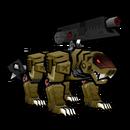 Danganronpa 2 Magical Monomi Minigame Enemies Stage 1 Tiger Monobeast