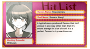 Hit List Komaru Naegi (EN)