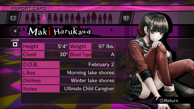 File:Danganronpa V3 Maki Harukawa Report Card (Demo Version).png