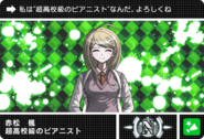 Danganronpa V3 Bonus Mode Card Kaede Akamatsu N JP