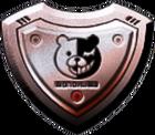 Danganronpa 2 Monokuma Panic Talk Action Shield 01