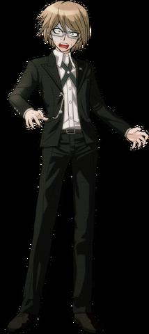 File:Byakuya Togami Fullbody Sprite (13).png