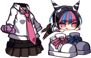 File:Girls Gun 2 x Danganronpa Ibuki Costume.png
