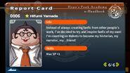 Hifumi Yamada Report Card Page 6