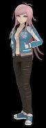 Hiroko Hagakure Fullbody 3D Model (2)