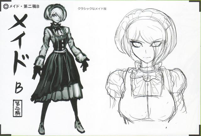 File:Art Book Scan Danganronpa V3 Character Designs Betas Kirumi Tojo (4).png