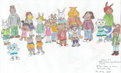 Arthur and Daniel Tiger Characters