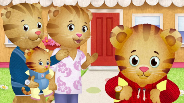 File:.028 Daniel Tiger Margaret Mom Dad & Zachary 28.png