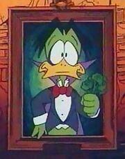Count Duckula portrait