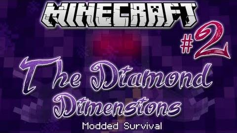"""BONE KNIGHTS & CREEPS!"" - Diamond Dimensions Modded Survival -2 - Minecraft"