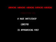 D Lobsterwarningscreen