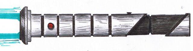 File:Lightsaber hilt blue 3.jpg