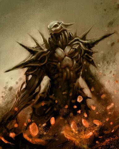 File:Demon Warrior by ProjectHybrid.jpg
