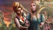 Pinocchio helps katherine