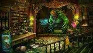 Gothel secret lab