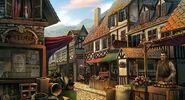 Boy village marketplace