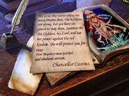 Cassius letter