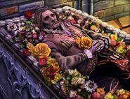 Geppetto puppet casket