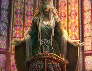 Goddess flora statue
