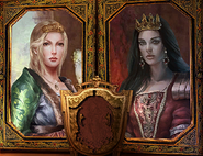 BOR - Portraits of the two queens