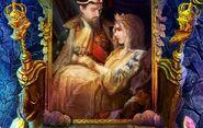 King queen portrait lm