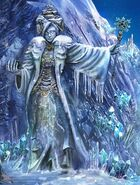 Snow statue 1