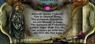 BOR - Queen Violante plaque