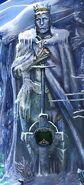Mountain king statue