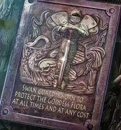Swan-guard-plaque