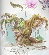 Canal monster drawing