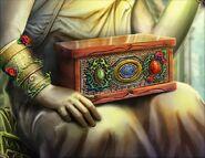 Thorned rose chest