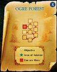 Ogre forest map