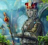 Violante crown scepter