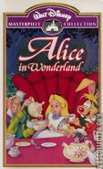 Alice in Wonderland -VHS-front NEW