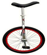Unicycle as Motorcycle