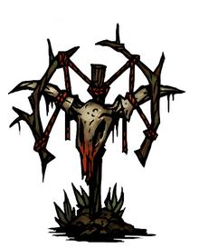 Troubling effigy