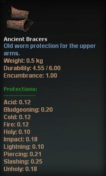 Ancient Bracers