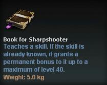 Book for Sharpshooter