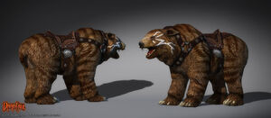 Tribeland Bear Darkfall by henning