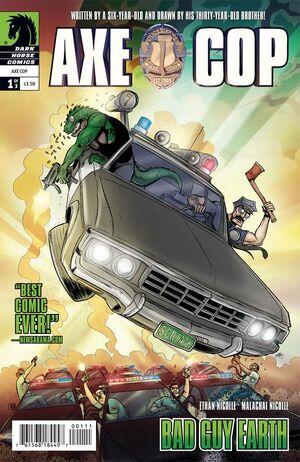 Axe Cop Bad Guy Earth Vol 1 1