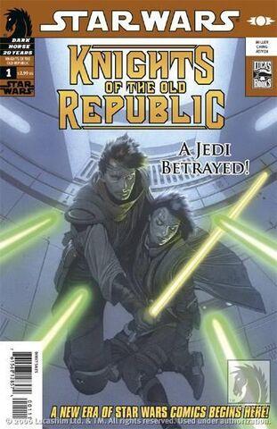 File:Star Wars Knights of the Old Republic Vol 1 1.jpg