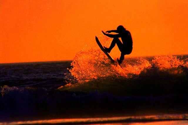 File:Sunset Surfer.jpg