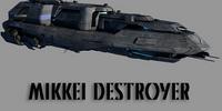 Mikkei Combine Destroyer