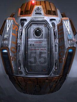 Escape pod concept featured