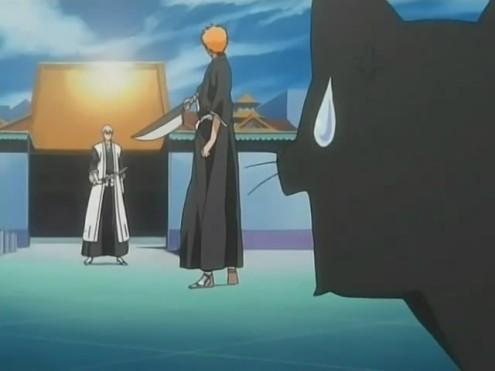 File:Yoruichi questioning Ichigo's stupidity.jpg