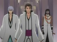 Aizen, Gin, and Tosen
