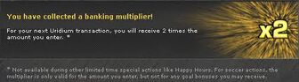 Banking multiplier
