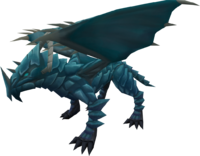 Rune dragon (armoured)